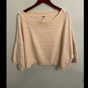 ✨HP✨ Free People Cream Sweater